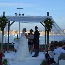 Una Jupá para una boda Judía
